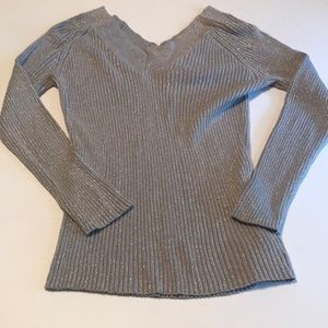 Xl New York and company silver sweater